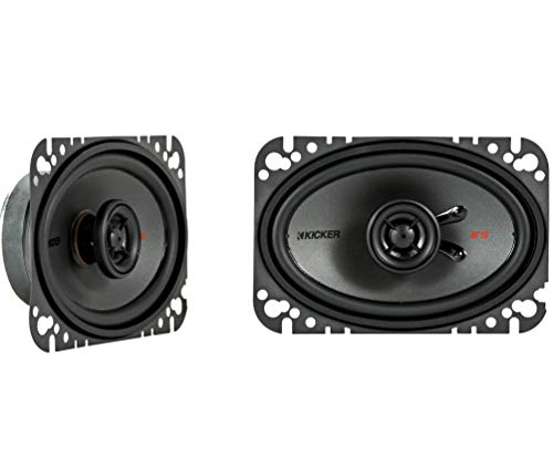 Kicker KSC4604 KSC460 4x6 Coax Speakers with .5