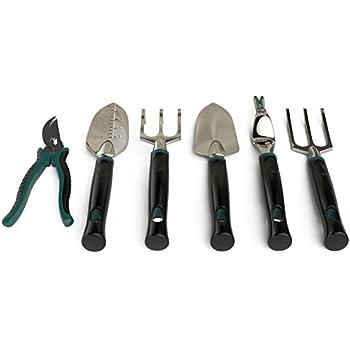 Pro Garden Gear Gardening Tool Set For The New Or Seasoned Gardener.  Ergonomic Tools Kit