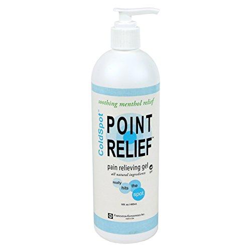 Point Relief 11-0710-1 ColdSpot Gel Pump, 16 oz Gel Pump (Pain Relief 16 Oz Pump)