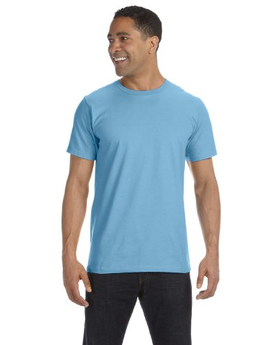 Clementine Anvil Organic T-Shirt () Light Blue, 3XL