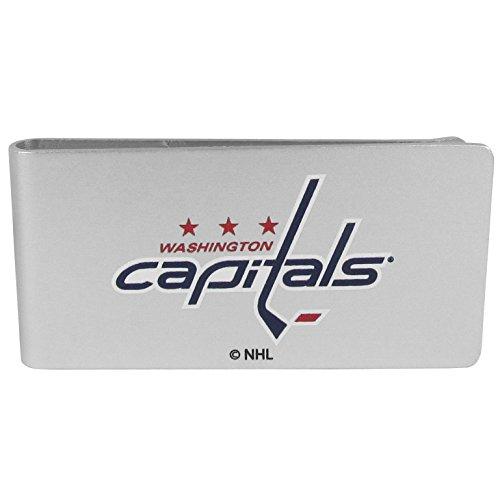 Siskiyou NHL Washington Capitals Mens Sportslogo Money Clip, Black, One Size