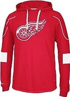 NHL Detroit Red Wings Men's Edge Team Hooded Jersey