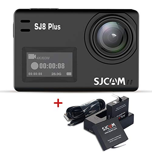 SJCAM SJ8 Plus 4K WiFi Action Camera Touch Screen Sport Cam with Sony Sensor EIS 170°Wide,2.3
