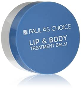 Paula's Choice LIP & BODY Treatment Balm, 0.5 Oz for Dry/Very Dry Skin, Eczema, Lips Cuticles Feet Hands - 100% Fragrance & Colorant-free