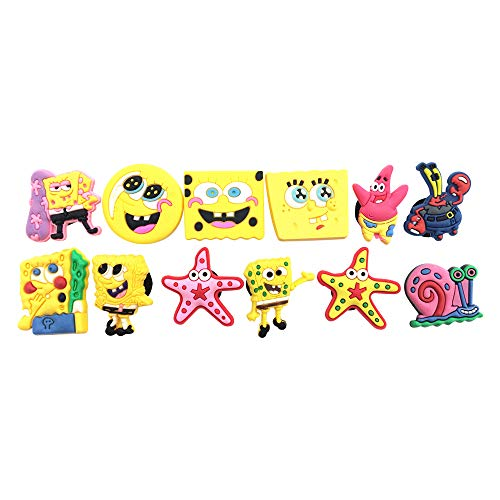 (12pcs Shoe Charms for Croc & Bracelet Wristband Kids Party Birthday Gifts #029)