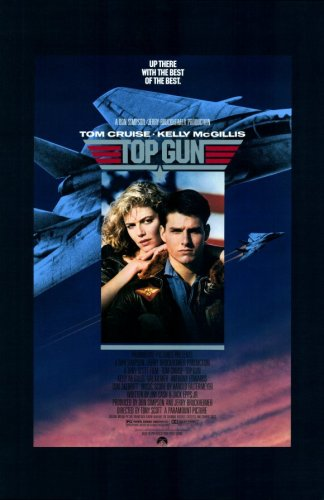 (Pop Culture Graphics Top Gun (1986) - 11 x 17 - Style A)