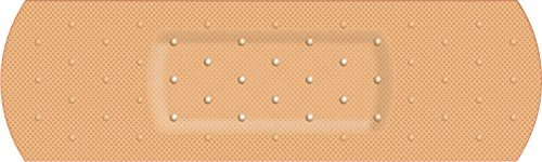Humorous Bumper Stickers - StickerTalk 10in x 3in Bandage Band aid Cover Bumper Sticker