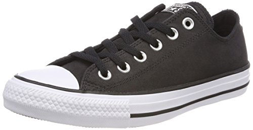 001 CTAS Black Negro Zapatillas Ox Converse Adulto Black White Unisex qa7zqwSd