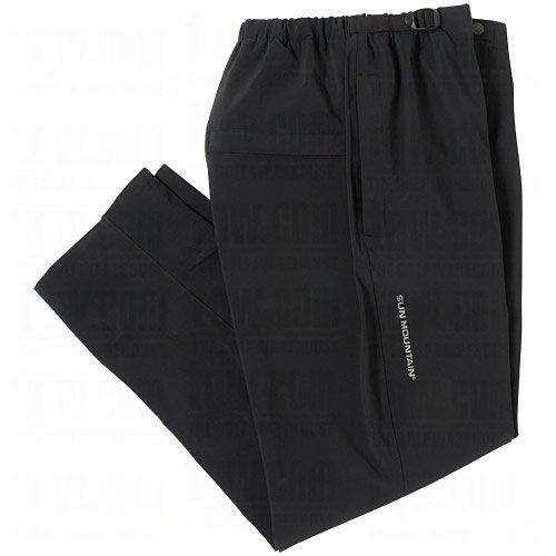 New Men's Sun Mountain RainWear Snapping Hem, Performance, Black, XXL Golf Pants ()