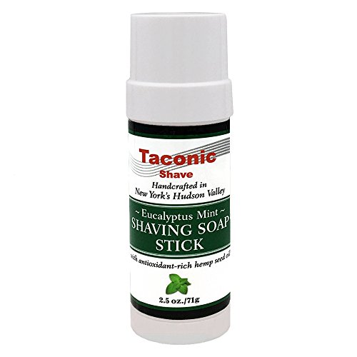 Taconic Shave Eucalyptus Mint Shaving Soap Stick with for sale  Delivered anywhere in USA