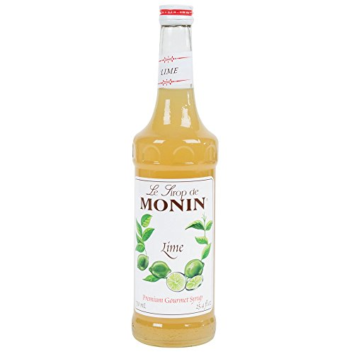 Lime Syrup - Monin Lime Syrup 750 ml