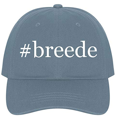 The Town Butler #Breede - A Nice Comfortable Adjustable Hashtag Dad Hat Cap, Light Blue, One Size
