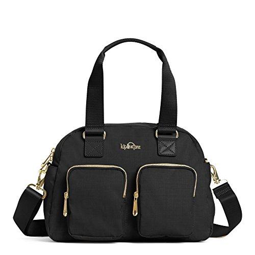 Kipling Women's Defea Handbag One Size Black Crosshatch by Kipling