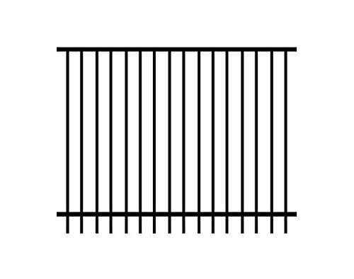 XCEL Fence Ornamental Fence Panel Cortina Style