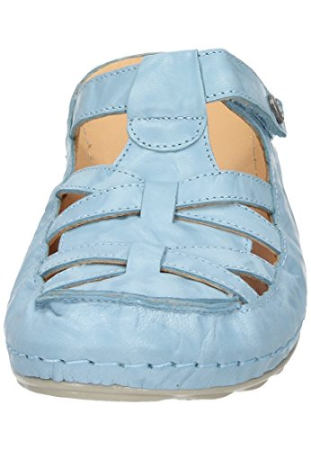 Dr. Brinkmann Dames-pantolette Lichtblauw 701105-55 Babyblauw