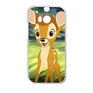 Bambi II HTC One M8 Cell Phone Case White Delicate gift JIS_422826