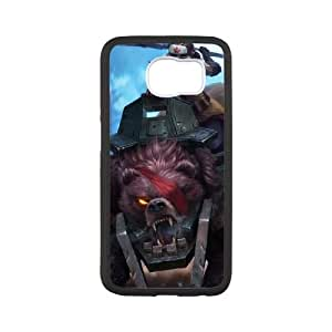Samsung Galaxy S6 Cell Phone Case White League of Legends Bear Cavalry Sejuani QH1832744