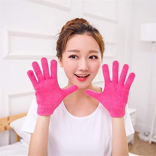 YXMxxm SPA Gel Gloves, Beauty Moisture Gel SPA Gel GlovesTratamiento Mascarilla para Manos Cuidado de Piel Agrietada...