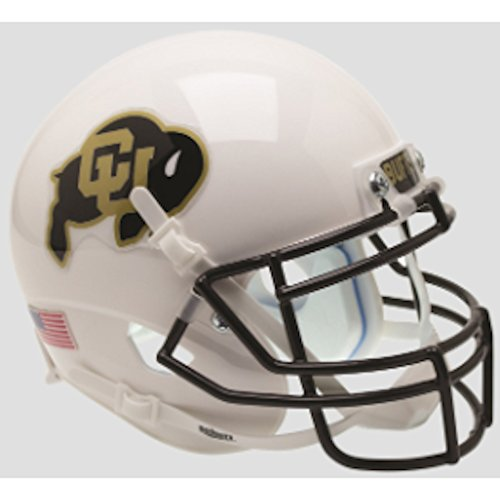 lternate 3 Schutt Mini Football Helmet (Colorado Buffaloes Mini Helmet)