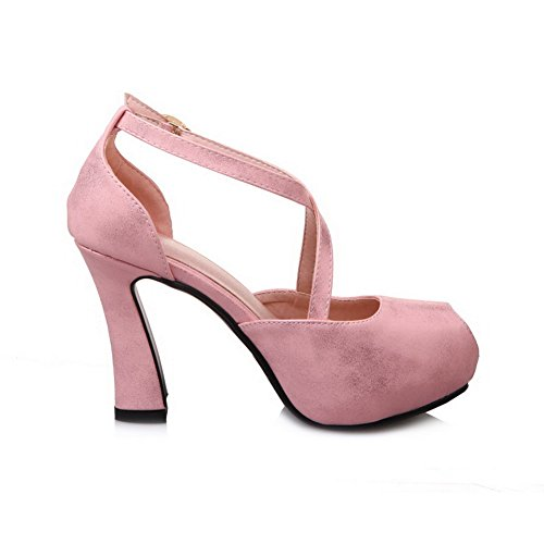 Non Size Marking Pink Mini Womens Leather ASL05114 BalaMasa Dress Sandals Novelty ZxqwEtWXOf