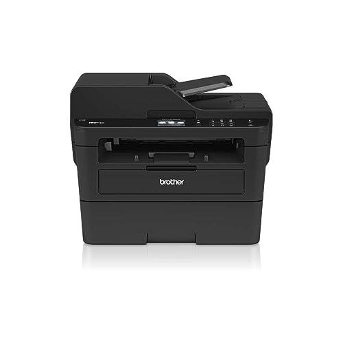 Brother MFCL2730DW Impresora multifunción láser monocromo con fax pantalla táctil e impresión dúplex 34 ppm USB 2 0 Wifi Ethernet Wifi Direct procesador de 600 MHz memoria de 128 MB negro