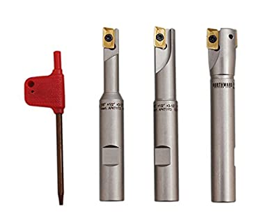 """Accusize Tools R8 Shank 1/"""" 90 Degree Milling Cutter"""