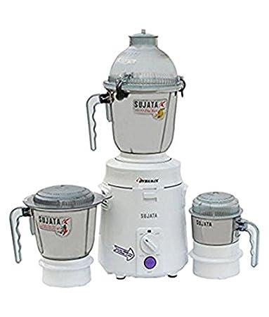 Sujata Dynamix-900W 900-Watt Mixer Grinder (White)