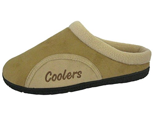 Chaussons Coolers Tan Taille Hommes Chaud S Polaire Obstruer L Doublure M Microsuede 35qAjL4R