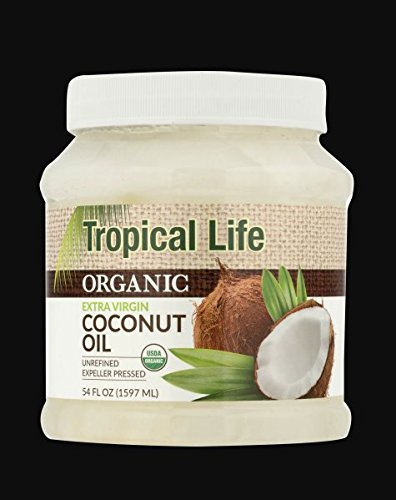 Tropical Life Organic Extra Virgin Coconut Oil (54.0 Fl Oz)
