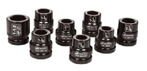 Ingersoll Rand SK8H8L 1-Inch 8 Piece Impact Socket ()
