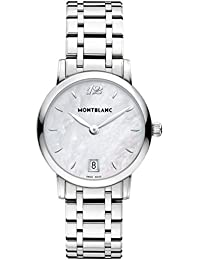 Womens Star Classique 108764 Silver Stainless-Steel Swiss Quartz Watch. MONTBLANC