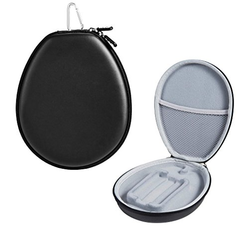 PU Leather Protection Carrying Case for LG Electronics Tone HBS 1100 HBS 910 HBS 900 Stereo Wireless Bluetooth Headset Headphone (Black)