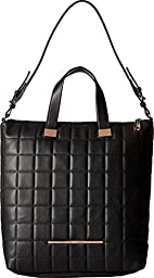 Steve Madden Women\'s Bbree Quilted Tote Black Tote