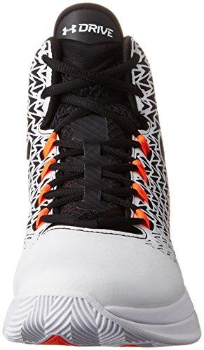 browse sale online clearance release dates Under Armour Men's UA ClutchFit Drive 3 Basketball Shoes White/Phoenix Fire/Black sale prices cheap online shop store online p2jInX5