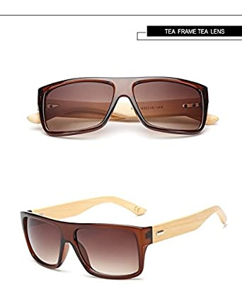 8dcbec8275 Unique Gift Imported Bamboo Sunglasses Wooden Sunglasses Unisex - 01   Amazon.in  Clothing   Accessories