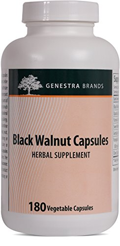 Genestra Brands - Black Walnut Capsules - Herbal Formula to Support Digestive Health* - 180 Capsules