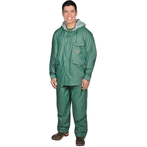 Gemplers Premium Quality Durable Rain Jacket and Pants Waterproof Rain Suit