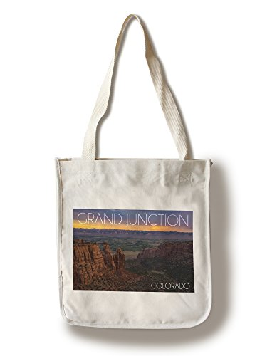 Grand Junction, Colorado - Wedding Canyon Sunset (100% Cotton Tote Bag - - Shopping Grand Junction