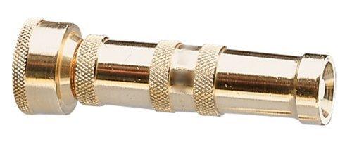 Nelson 5 Pack Brass Hose-End Adjustable Spray Nozzle with Twist Handle - Garden Watering Pistol - (Pistol Nozzle)