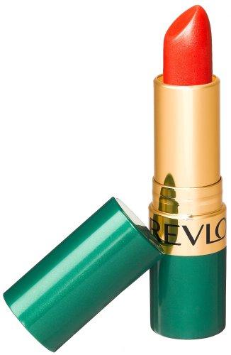 Revlon Moon Drops Lipstick, Frost, Poppysilk Red 714, 0.15 Ounce