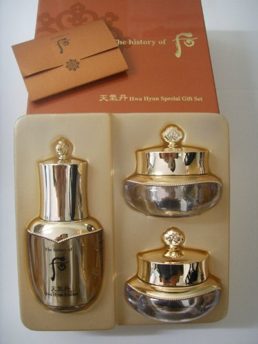 Korea Cosmetic_The History of Whoo Chungidan HwaHyun Special Gift Set(3items)+free sample