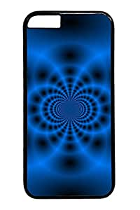 iphone 6 4.7inch Cases & Covers Blue Fractal Tunnel Custom PC Hard Case Cover for iphone 6 4.7inch black