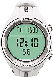 Cressi Goa Dive Watch Computer   4 Programs - Air/Nitrox, Freediving, Gage   New 2018   Made in Italy