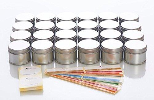 24 kleine Gewürzdosen mit Aromadeckel