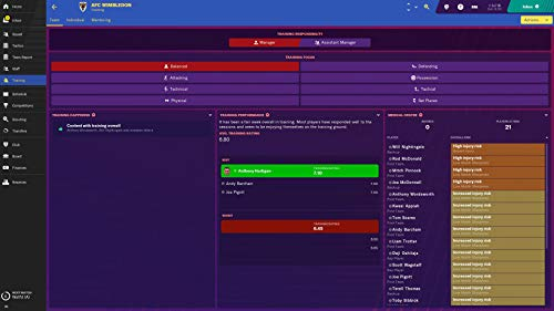 Football Manager 2019   PC Download - Steam Code: Amazon co