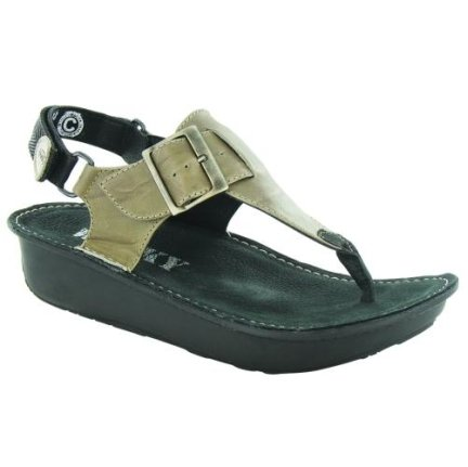 Green Leather Forest 20730 Wolky Sandals Ka Xx0qI