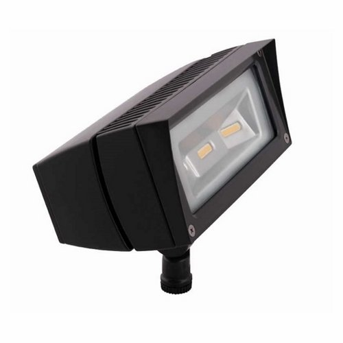 RAB Lighting FFLED18/PC Future Flood 18W Cool LED Lamp, 120V, Bronze