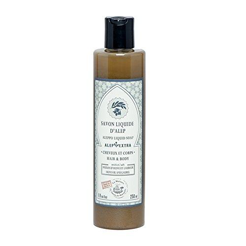 Liquid Aleppo soap laurel oil 250ml - La Maison du Savon de Marseille