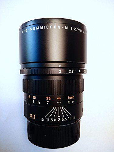 Leica 90Mm F 2 0 Apo Summicron M Aspherical Manual Focus Lens  11884