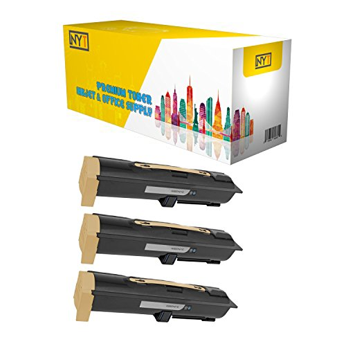 New York TonerTM New Compatible 3 Pack W850H21G High Yield Toner for Lexmark - W850N | W850DN - Black